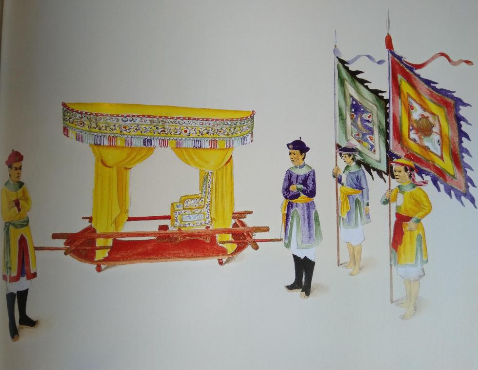 Trăm năm lưu lạc của bộ tranh quý Đại lễ phục triều Nguyễn - Ảnh 15.