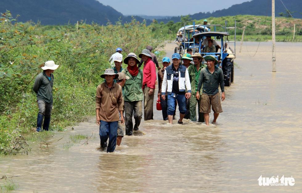 Cả làng đắp đê suốt 3 ngày đêm, cứu hơn 1.000ha lúa sắp thu hoạch - Ảnh 18.
