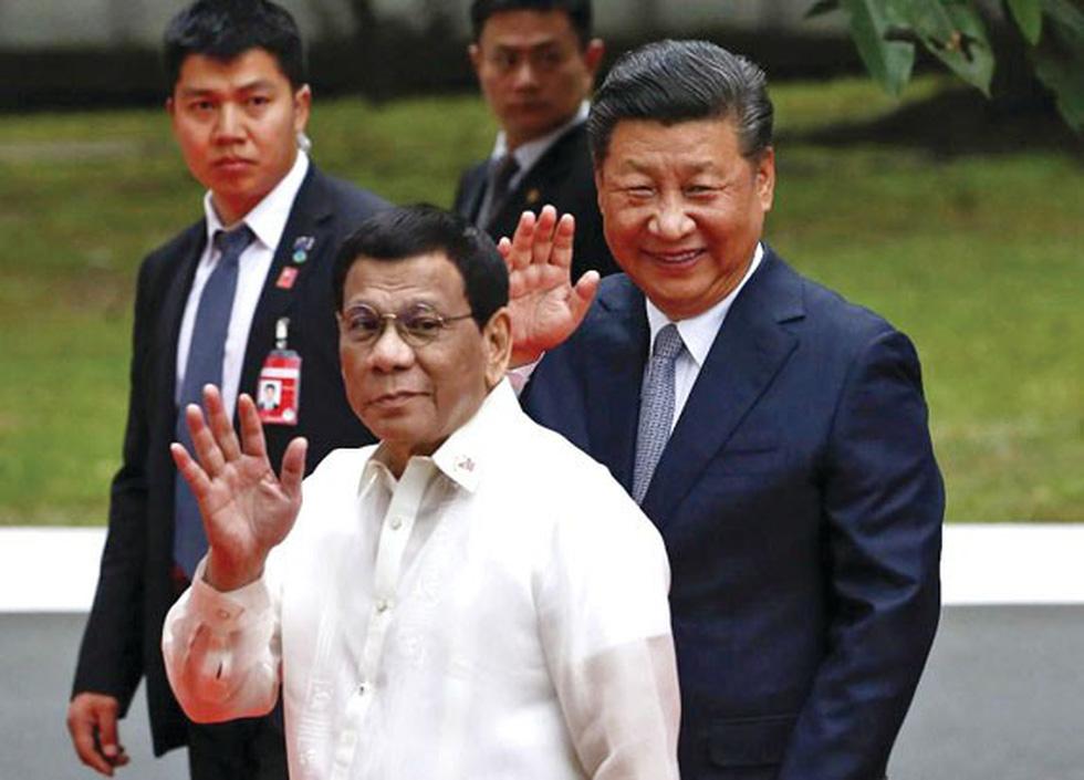 Trò chơi ngôn ngữ của ông Duterte - Ảnh 1.