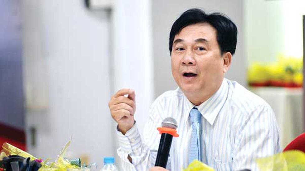 TS.BS Phạm Xuân Dũng - giám đốc BV Ung bướu TP.HCM. Ảnh: DUYÊN PHAN