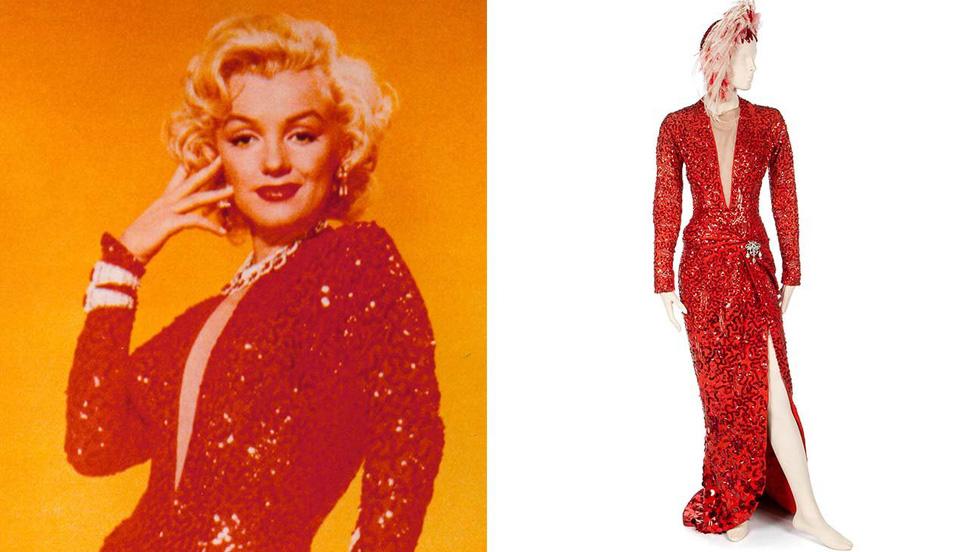Marilyn Monroe và những chiếc váy đấu giá từ chục ngàn đến triệu USD - Ảnh 1.