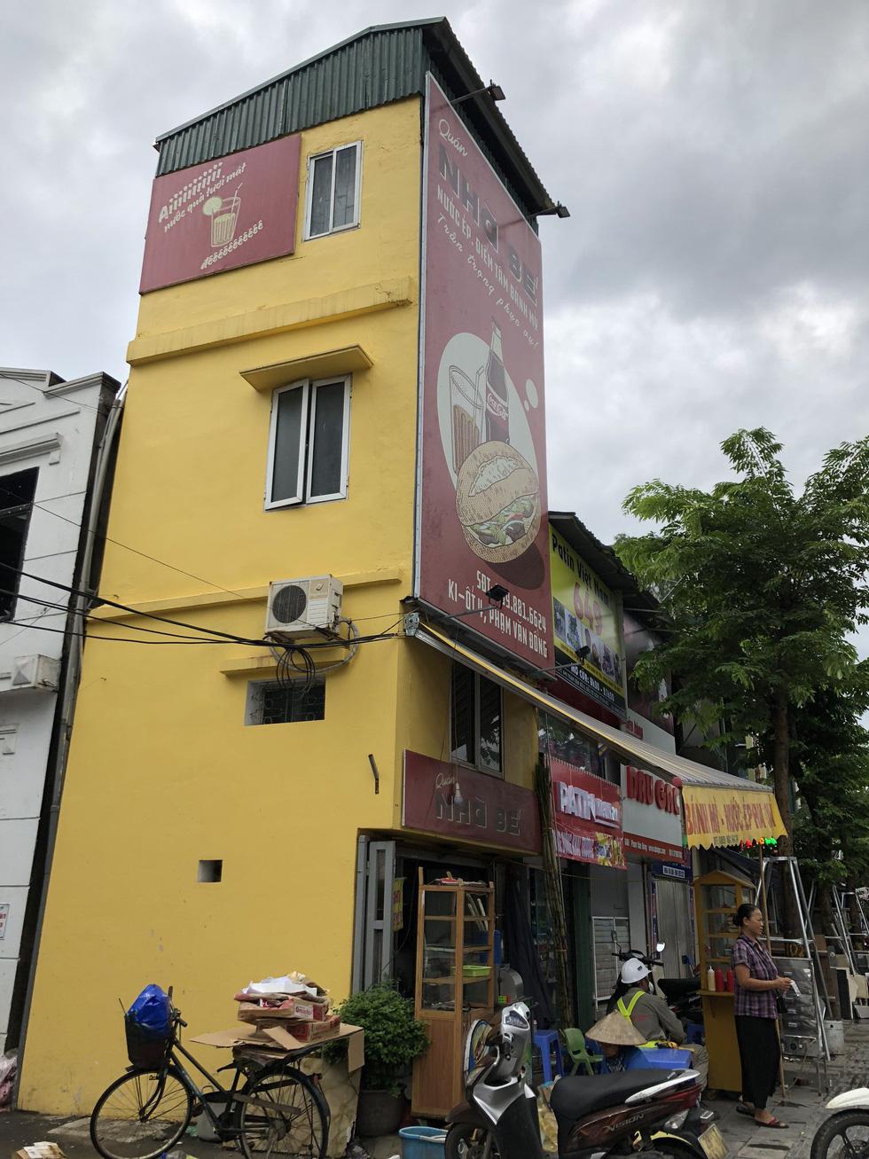 Những ngôi nhà kì dị chỉ có ở phố Phạm Văn Đồng - Ảnh 7.