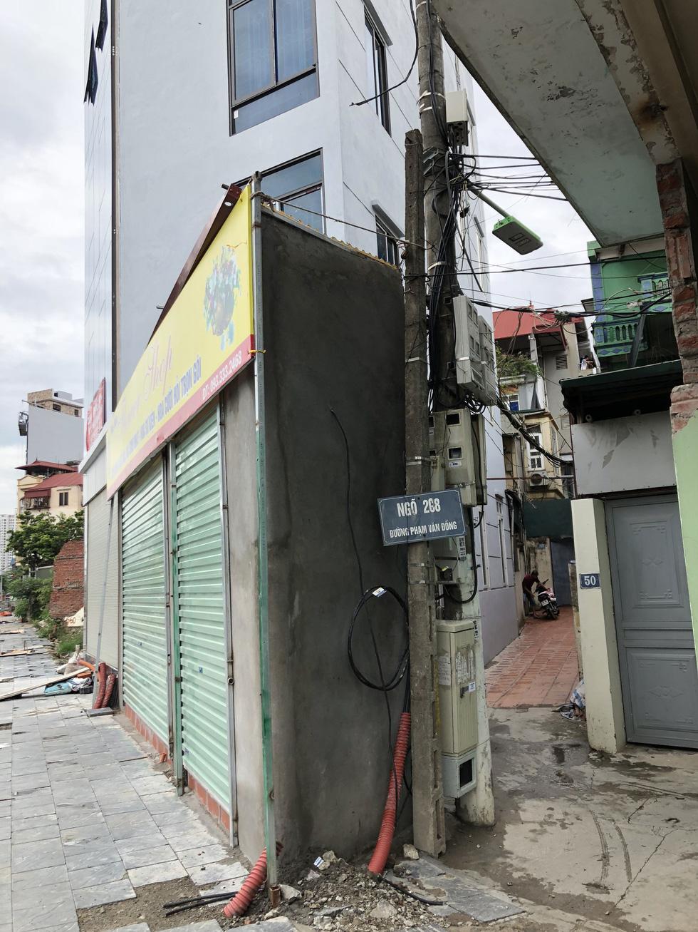 Những ngôi nhà kì dị chỉ có ở phố Phạm Văn Đồng - Ảnh 6.