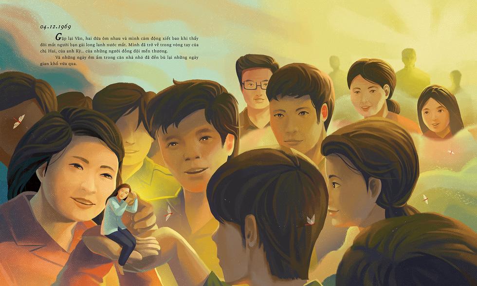 Xúc động bộ tranh Nhật ký Đặng Thùy Trâm của chàng sinh viên kiến trúc - Ảnh 31.
