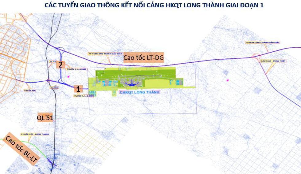 Kết nối giao thông vào cửa ngõ sân bay Long Thành như thế nào? - Ảnh 1.