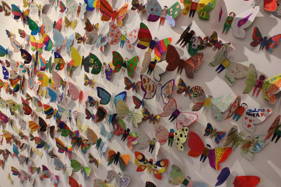 1.300 bươm bướm của những hoàn hảo - khiếm khuyết trong triển lãm ở Hà Nội - Ảnh 4.