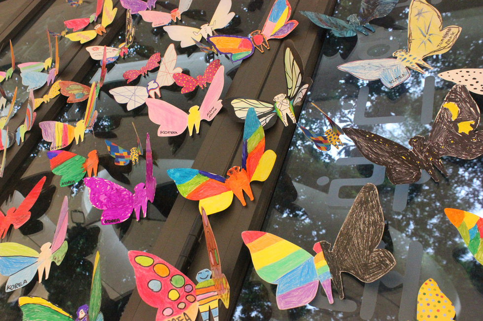 1.300 bươm bướm của những hoàn hảo - khiếm khuyết trong triển lãm ở Hà Nội - Ảnh 5.