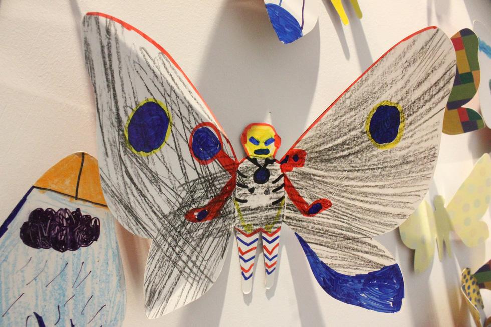 1.300 bươm bướm của những hoàn hảo - khiếm khuyết trong triển lãm ở Hà Nội - Ảnh 12.