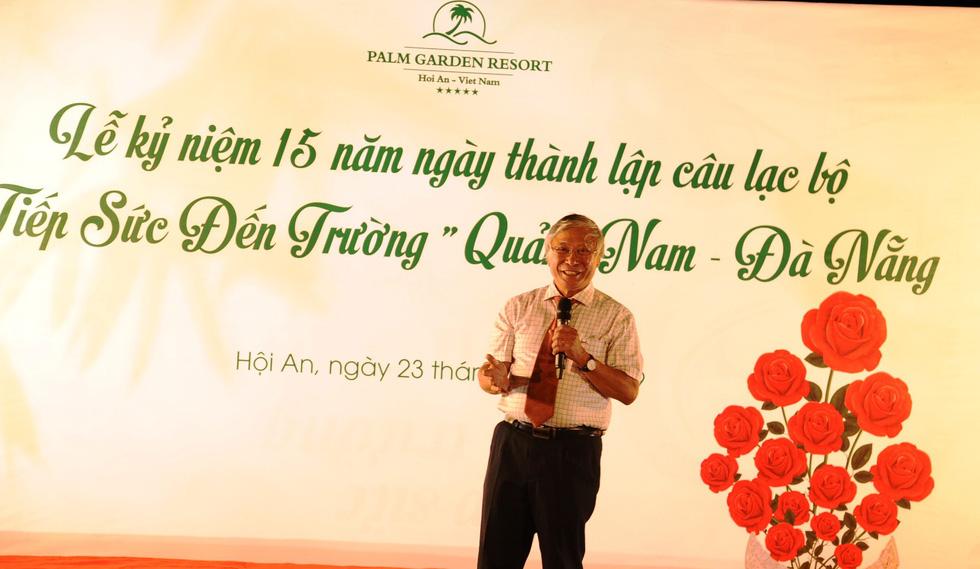 15 năm, hơn 1.700 tân sinh viên Quảng Nam- Đà Nẵng được tiếp sức đến trường - Ảnh 2.
