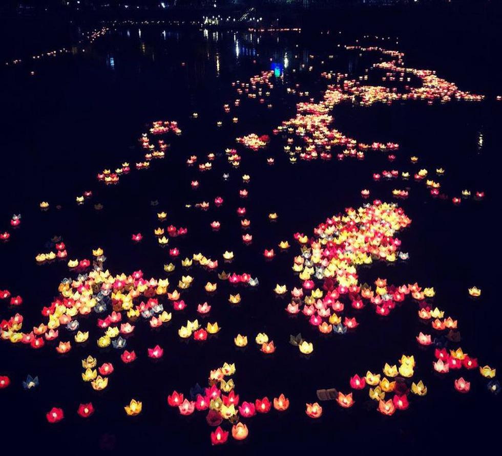 Xôn xao quanh chuyện 30.000 hoa đăng thả xuống vịnh Lan Hạ gây ô nhiễm - Ảnh 5.