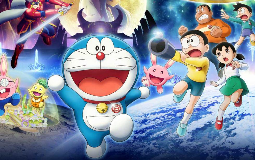 Doraemon, Conan, Shin... từ manga ra rạp, phim có đủ sức hút? - Ảnh 1.