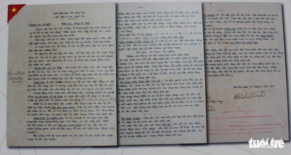 Công bố lá thư Bác Hồ gửi Tổng thống Mỹ Nixon 8 ngày trước khi qua đời - Ảnh 11.