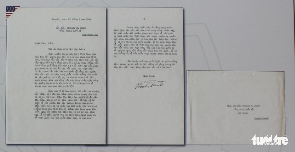 Công bố lá thư Bác Hồ gửi Tổng thống Mỹ Nixon 8 ngày trước khi qua đời - Ảnh 3.