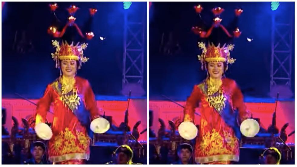 3 tháng khổ luyện múa với đĩa và lửa của cô giáo Việt trên đất nước Indonesia  - Ảnh 5.