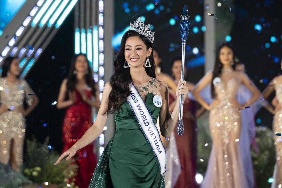 Ngắm bộ ảnh của tân Hoa hậu Thế giới Việt Nam 2019 Lương Thùy Linh - Ảnh 1.