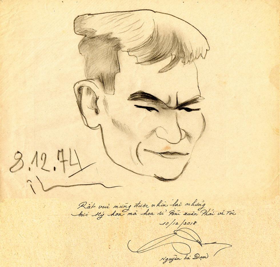 Kỳ tình giữa họa sĩ Bùi Xuân Phái và ông giáo Đạm - Ảnh 11.