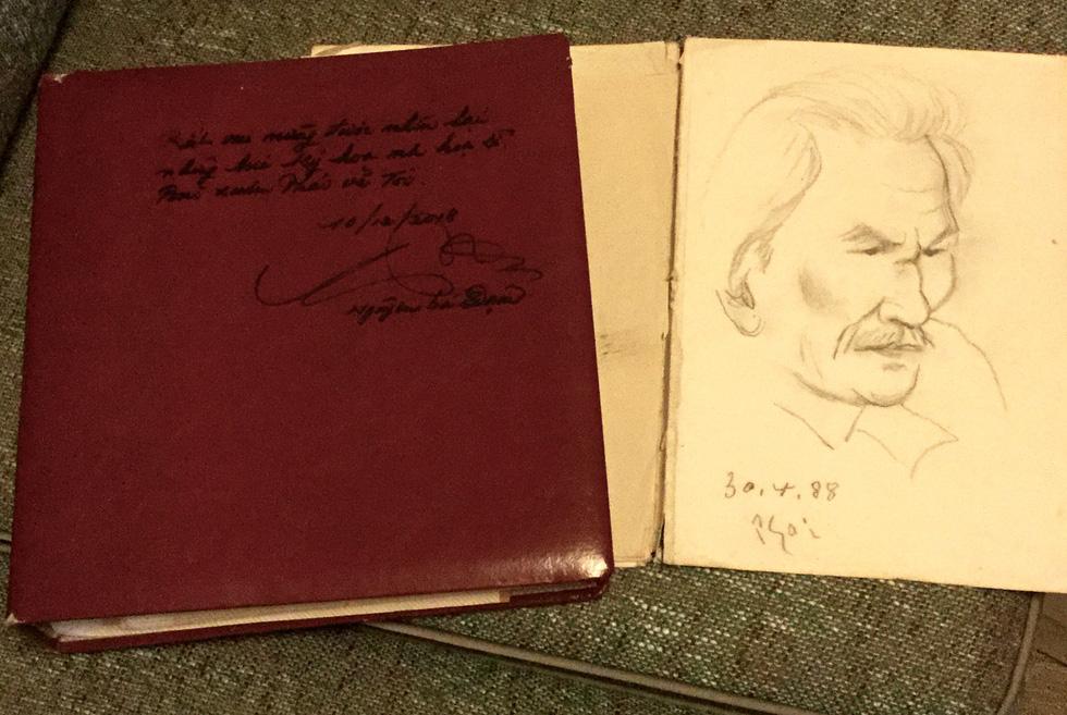 Kỳ tình giữa họa sĩ Bùi Xuân Phái và ông giáo Đạm - Ảnh 7.
