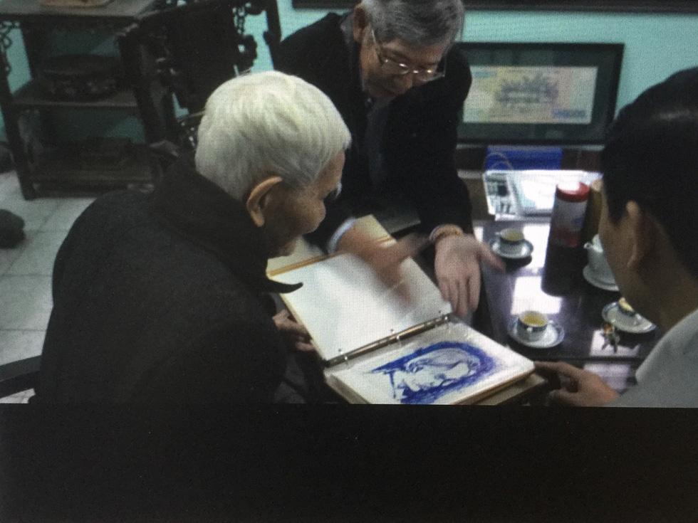 Kỳ tình giữa họa sĩ Bùi Xuân Phái và ông giáo Đạm - Ảnh 9.