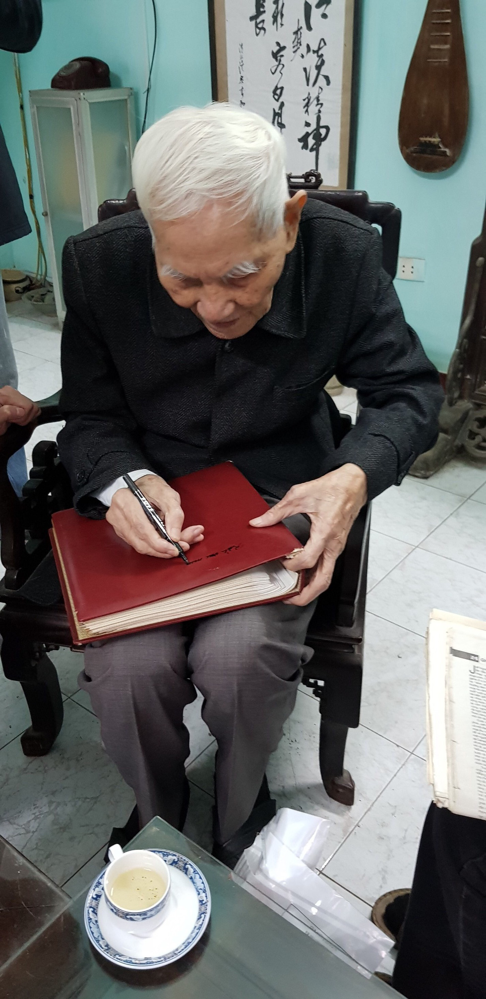 Kỳ tình giữa họa sĩ Bùi Xuân Phái và ông giáo Đạm - Ảnh 5.