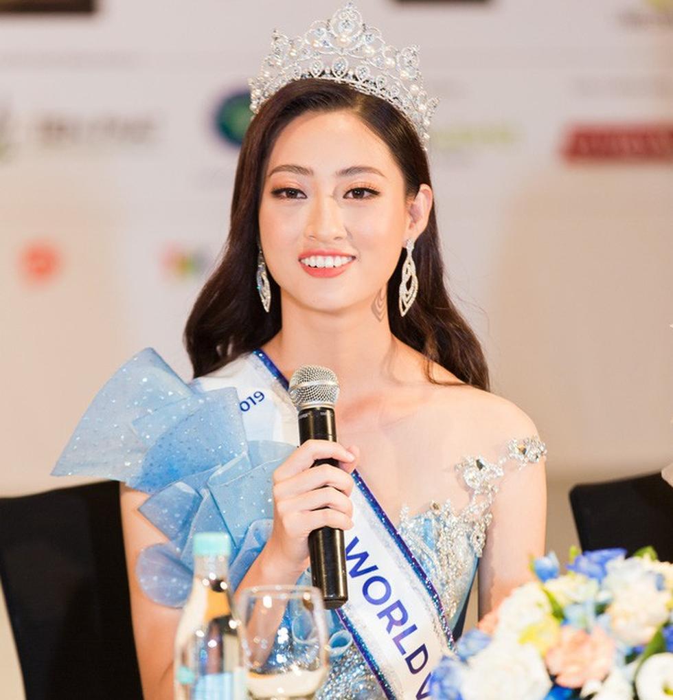 Hoa hậu Lương Thùy Linh: Tập trung hết sức vào việc học nên chưa có bạn trai - Ảnh 1.