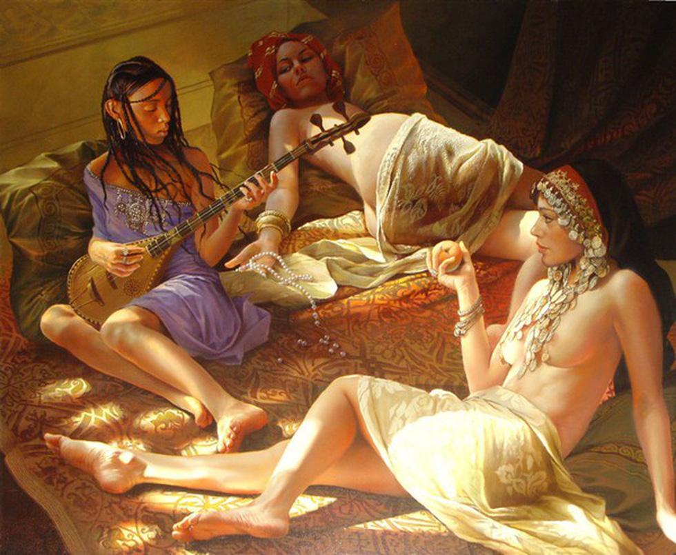 Bí mật chốn hậu cung của các ông vua Thổ Nhĩ Kỳ - Ảnh 4.