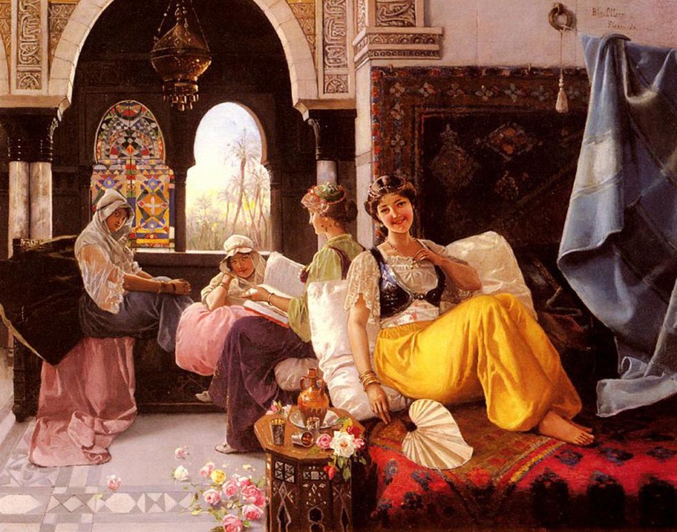 Bí mật chốn hậu cung của các ông vua Thổ Nhĩ Kỳ - Ảnh 7.