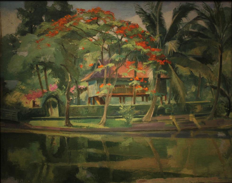 Ngắm tranh danh họa Tô Ngọc Vân, Trần Văn Cẩn vẽ Bác Hồ - Ảnh 9.