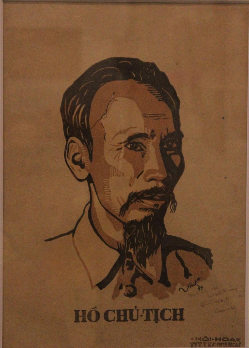 Ngắm tranh danh họa Tô Ngọc Vân, Trần Văn Cẩn vẽ Bác Hồ - Ảnh 10.