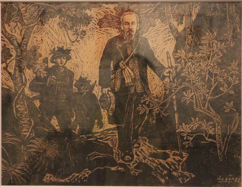 Ngắm tranh danh họa Tô Ngọc Vân, Trần Văn Cẩn vẽ Bác Hồ - Ảnh 11.