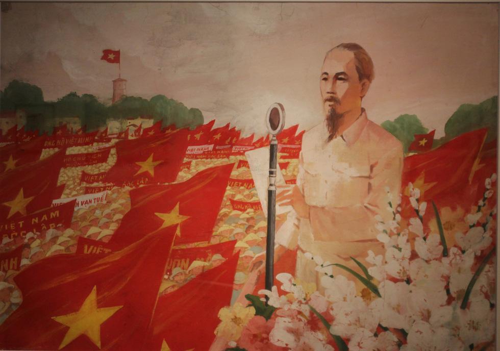 Ngắm tranh danh họa Tô Ngọc Vân, Trần Văn Cẩn vẽ Bác Hồ - Ảnh 5.