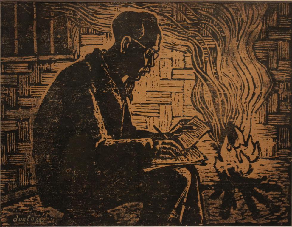 Ngắm tranh danh họa Tô Ngọc Vân, Trần Văn Cẩn vẽ Bác Hồ - Ảnh 15.