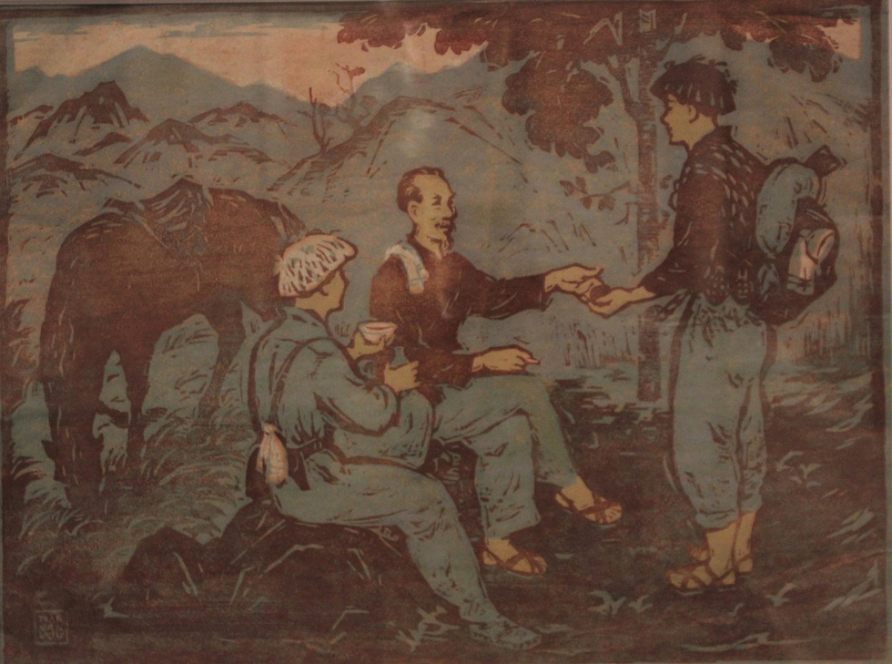 Ngắm tranh danh họa Tô Ngọc Vân, Trần Văn Cẩn vẽ Bác Hồ - Ảnh 17.