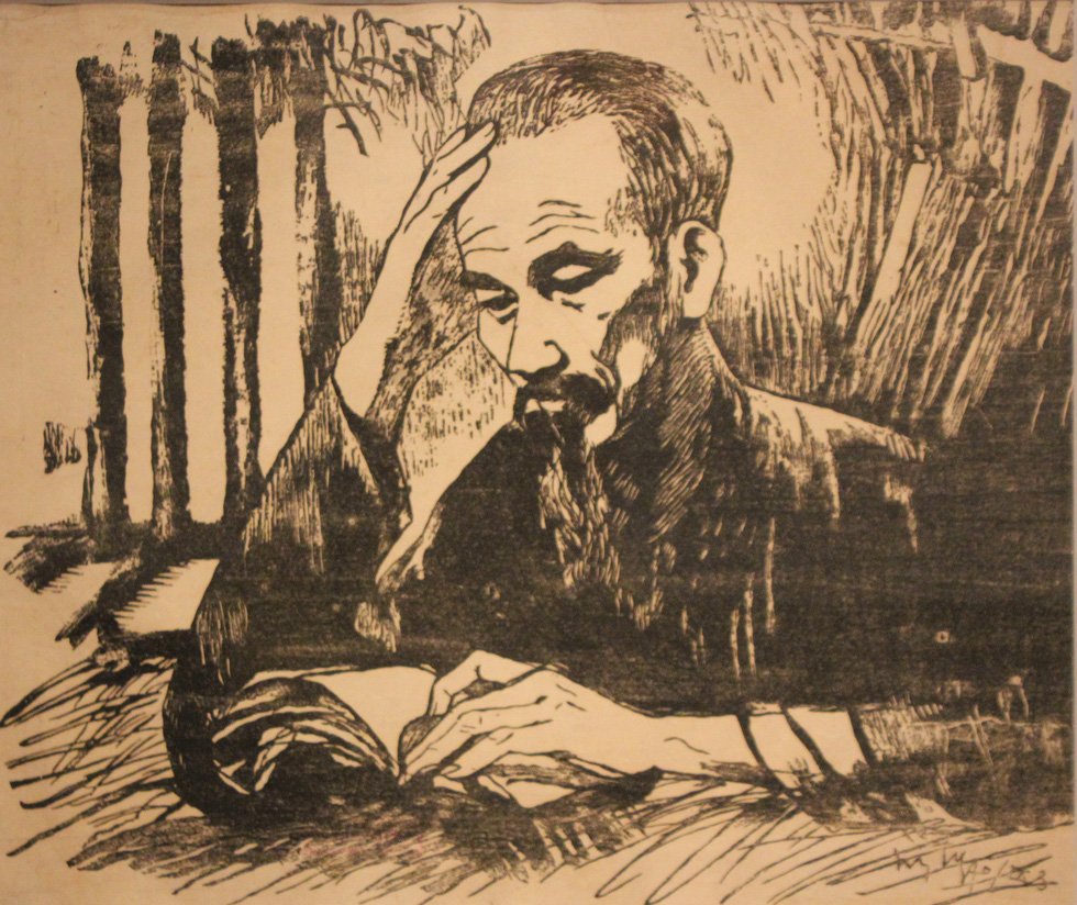 Ngắm tranh danh họa Tô Ngọc Vân, Trần Văn Cẩn vẽ Bác Hồ - Ảnh 18.