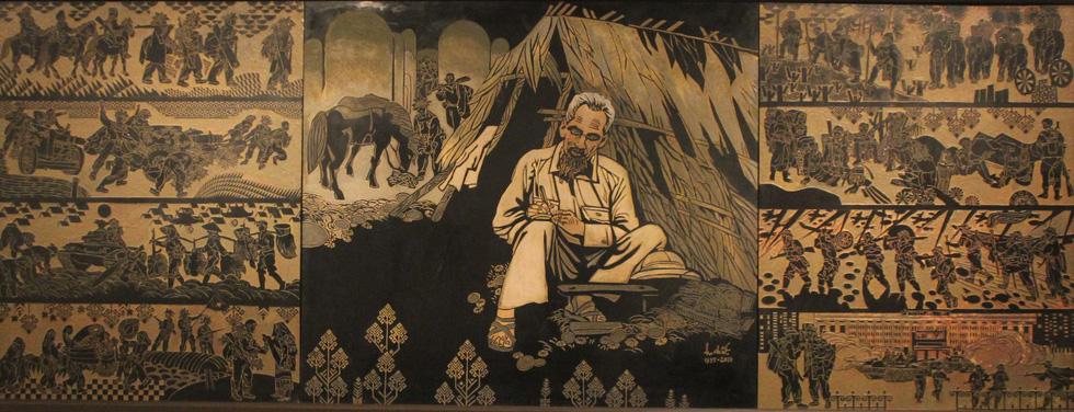 Ngắm tranh danh họa Tô Ngọc Vân, Trần Văn Cẩn vẽ Bác Hồ - Ảnh 19.