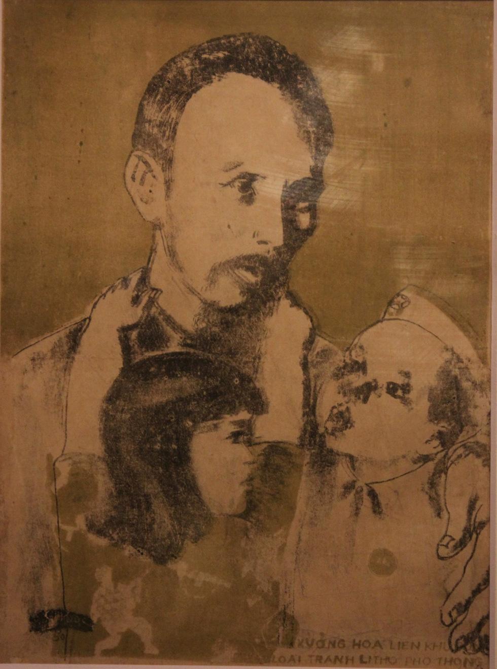 Ngắm tranh danh họa Tô Ngọc Vân, Trần Văn Cẩn vẽ Bác Hồ - Ảnh 20.