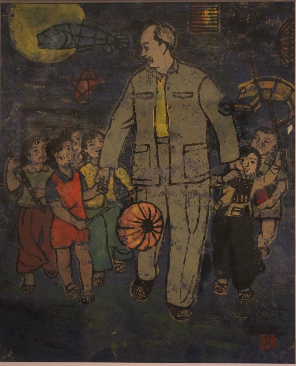 Ngắm tranh danh họa Tô Ngọc Vân, Trần Văn Cẩn vẽ Bác Hồ - Ảnh 22.