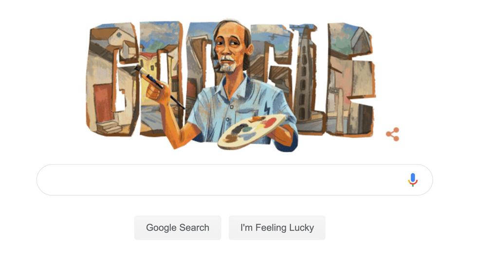 Danh họa Bùi Xuân Phái được Google vinh danh nhân sinh nhật lần thứ 99 của ông