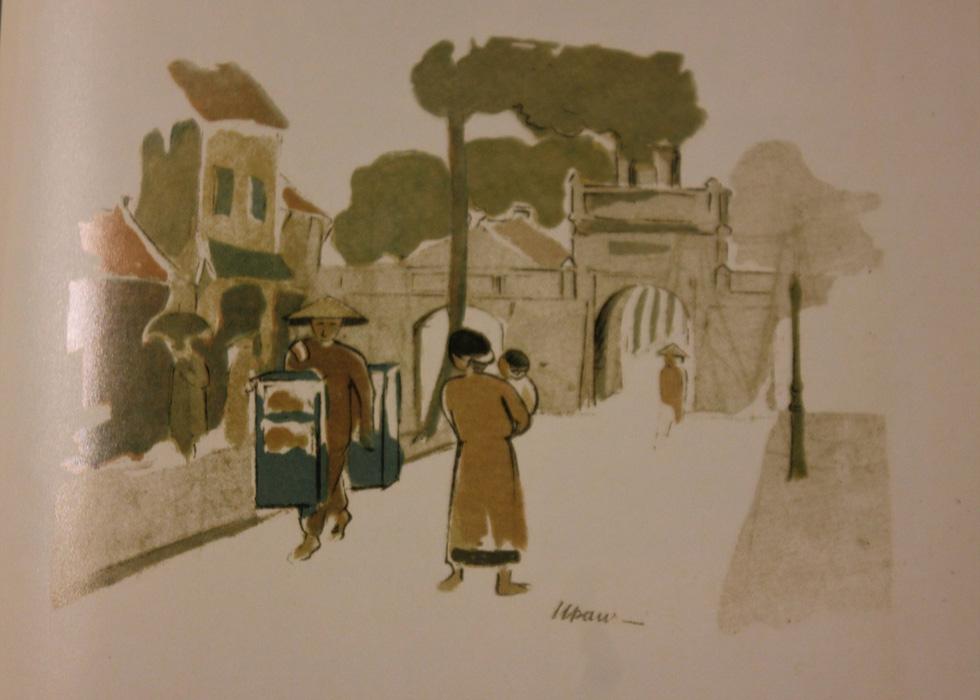 Bất ngờ với gánh hàng rong Hà Nội xưa trong tranh họa sĩ triệu đô Lê Phổ - Ảnh 8.