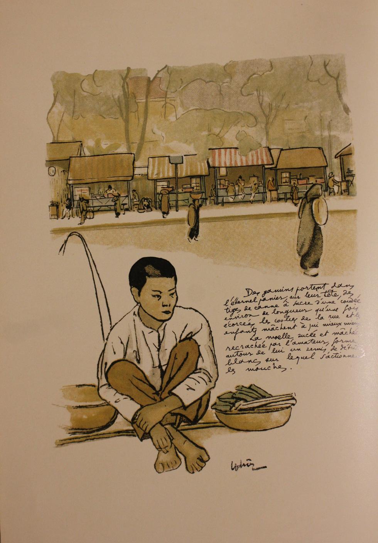 Bất ngờ với gánh hàng rong Hà Nội xưa trong tranh họa sĩ triệu đô Lê Phổ - Ảnh 3.