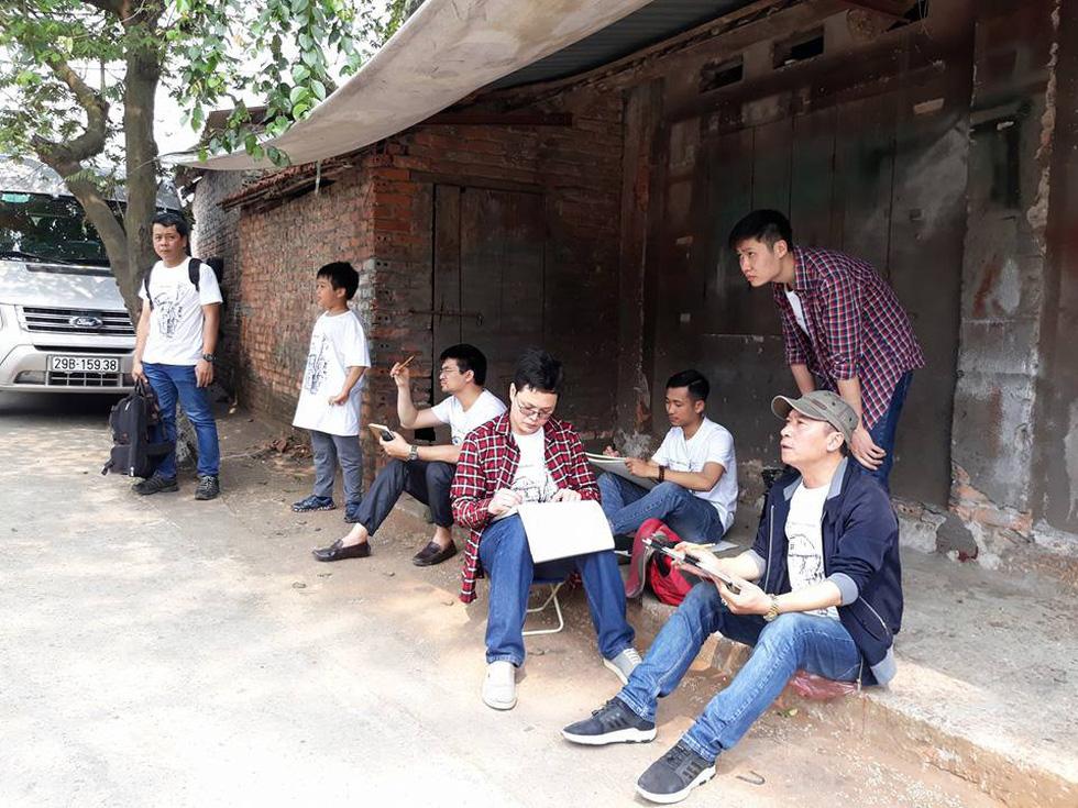 Ký họa đô thị Hà Nội: Những người vẽ bằng tình yêu... - Ảnh 11.