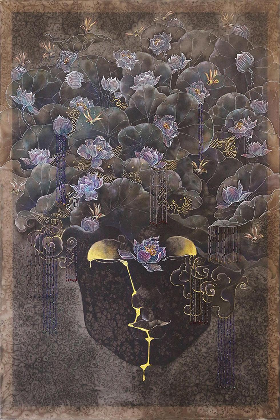 Họa sĩ Việt vẽ những nàng Mỵ Nương được Úc chọn triển lãm - Ảnh 1.