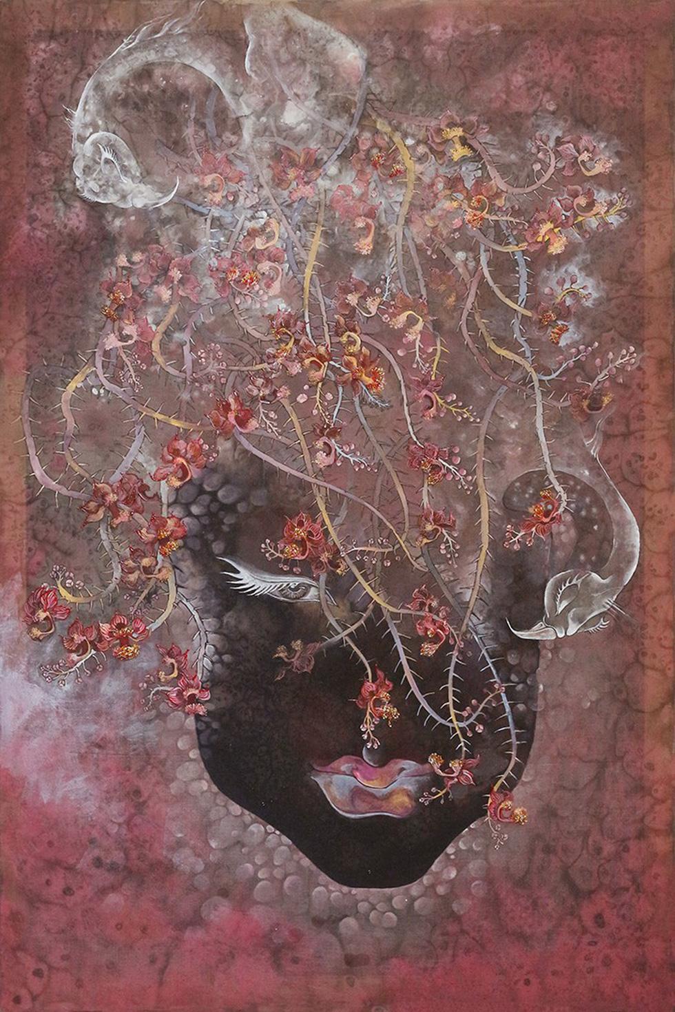 Họa sĩ Việt vẽ những nàng Mỵ Nương được Úc chọn triển lãm - Ảnh 5.