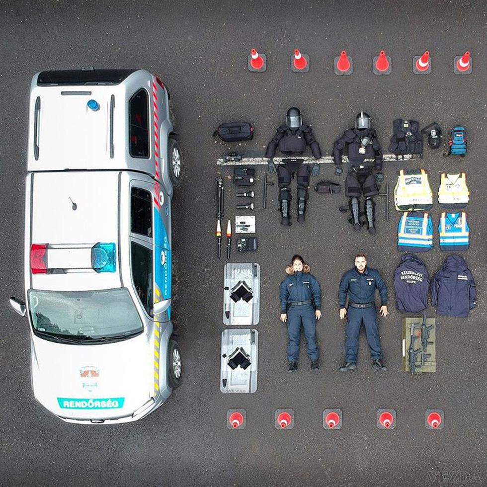 'Sống ảo' quy mô chưa từng có: Cảnh sát, cứu hộ thi nhau 'đọ' đồ nghề trên mạng - Ảnh 5.