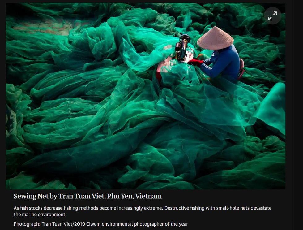 Thông điệp đáng lo sau bức ảnh Việt Nam tại cuộc thi ảnh môi trường thế giới - Ảnh 2.