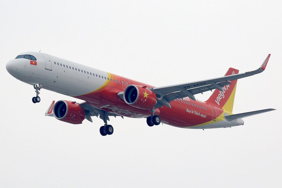 Vietjet nhận máy bay A321neo ACF 240 ghế đầu tiên trên thế giới - Ảnh 4.