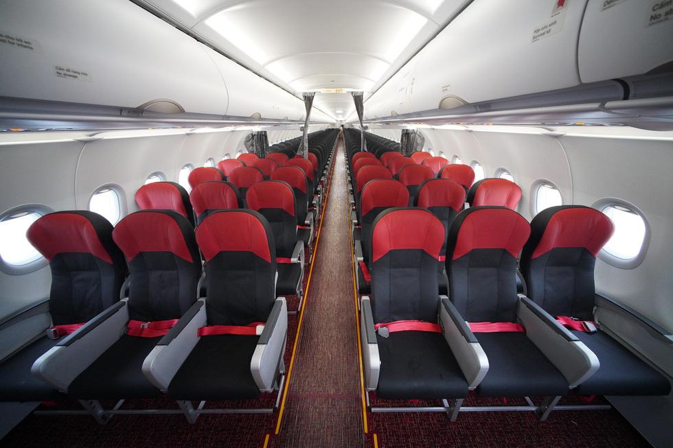 Vietjet nhận máy bay A321neo ACF 240 ghế đầu tiên trên thế giới - Ảnh 5.
