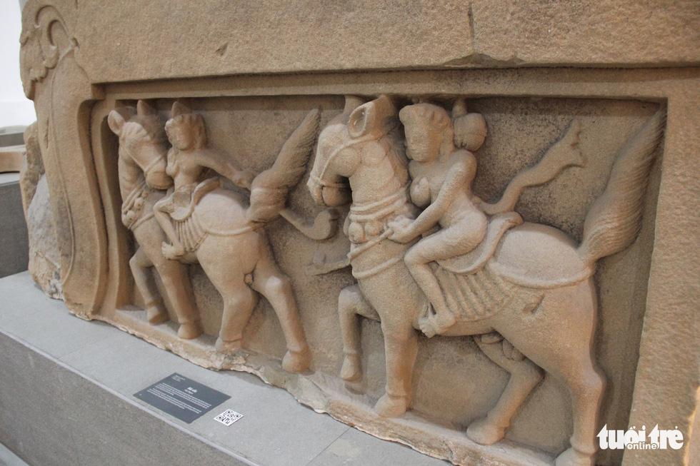 Trăm năm cổ viện Chàm - những chuyện chưa biết - Kỳ 3: Bảo vật quốc gia kể chuyện - Ảnh 5.