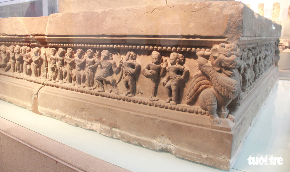 Trăm năm cổ viện Chàm - những chuyện chưa biết - Kỳ 3: Bảo vật quốc gia kể chuyện - Ảnh 3.