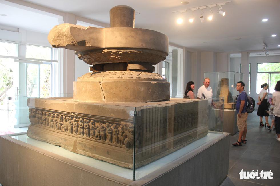 Trăm năm cổ viện Chàm - những chuyện chưa biết - Kỳ 3: Bảo vật quốc gia kể chuyện - Ảnh 1.