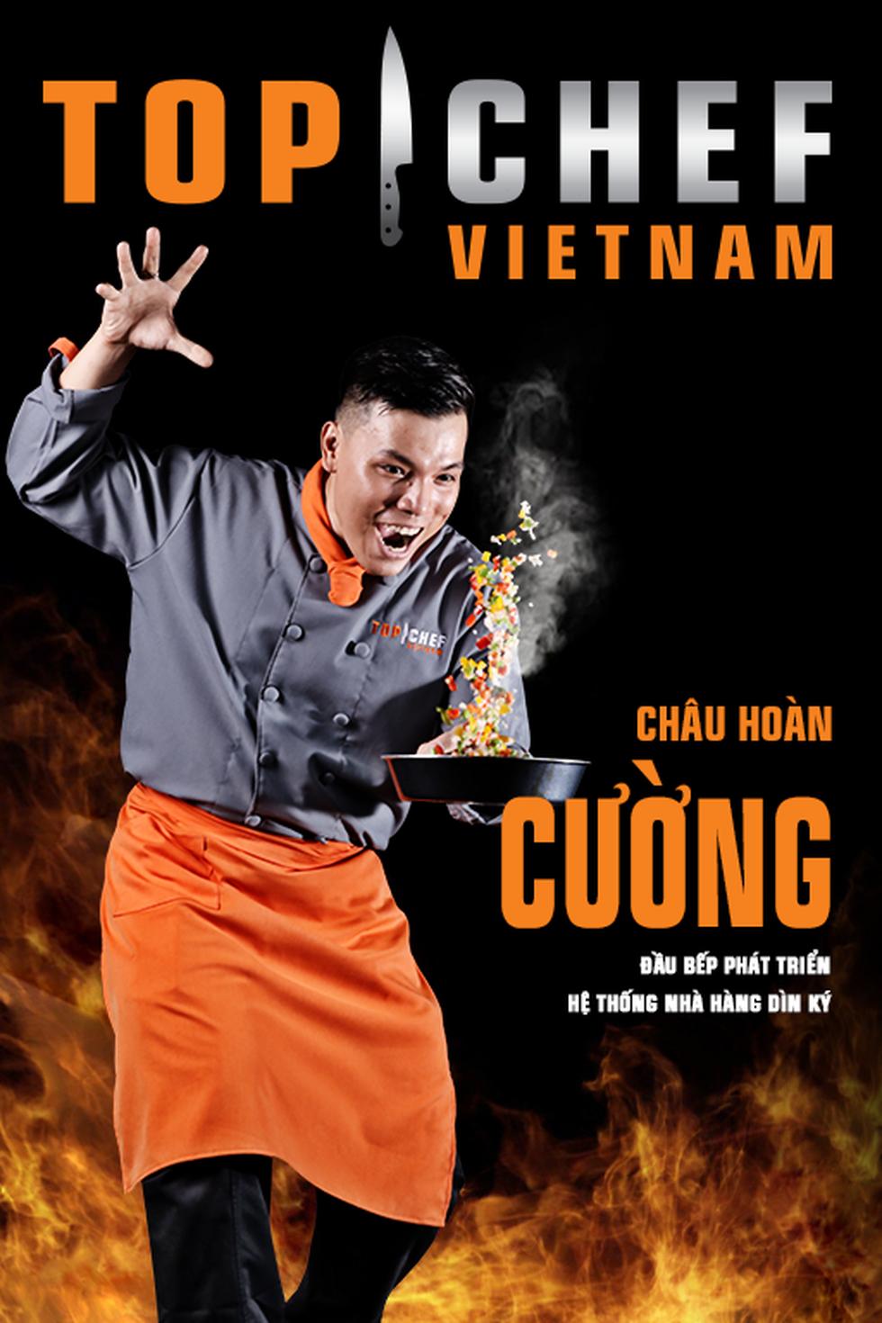 Lộ diện top 14 Đầu bếp thượng đỉnh - Top chef Vietnam 2019 - Ảnh 4.